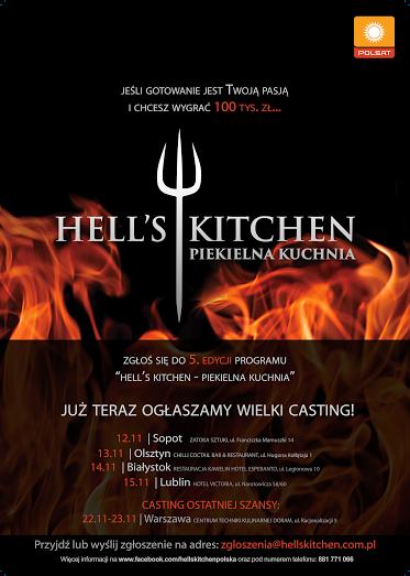 Ruszają Castingi Do V Edycji Hells Kitchen Piekielna